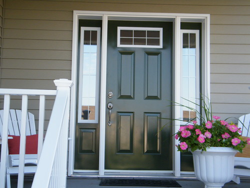 Paint Sidelights Trim Color Or Door Color Your Thoughts
