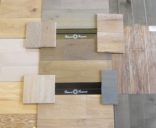 Grey And White Wash Hardwood Contemporary Hardwood