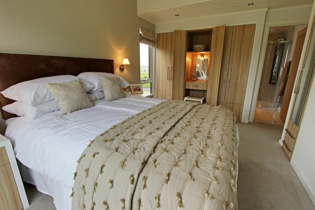 The Rowanwater Lodge Contemporary Bedroom North West