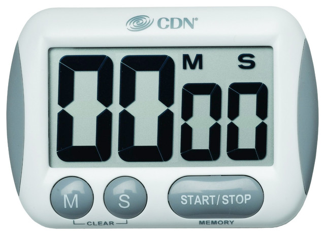 Cdn Tm15 Big Digit Timer Contemporary Kitchen Timers By Ekitchenworld