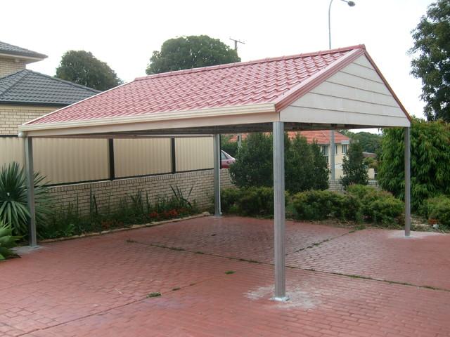 Metal Carport Roofing Modern Melbourne By Metile