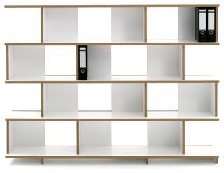 stell regal bauhaus look regalsysteme von. Black Bedroom Furniture Sets. Home Design Ideas