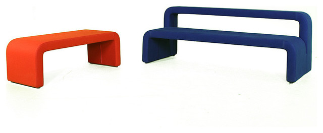 Moby Bench by B&T Design modern-upholstered-benches