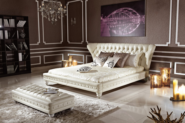 White bedroom set bed and bench transitional bedroom for White dresser set bedroom furniture
