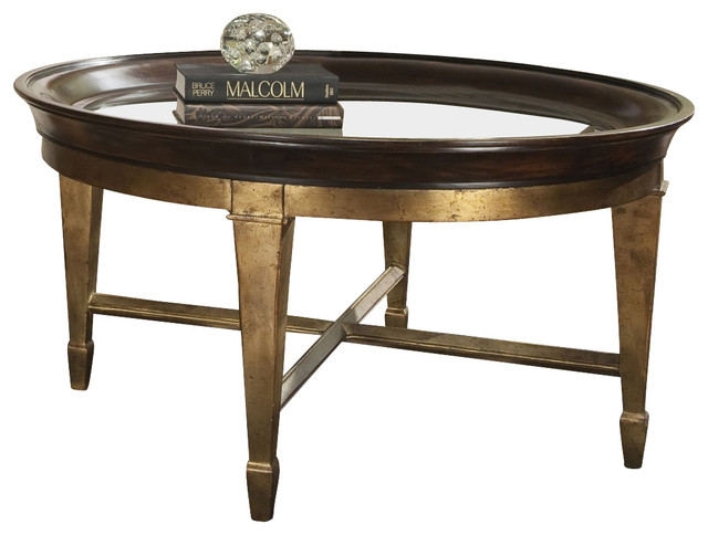 Ambella Home Collection Luna Cocktail Table Transitional Coffee Tables By Greatfurnituredeal