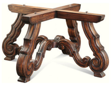 Marseilles Dining Table Base Only Traditional Table Tops And Bases