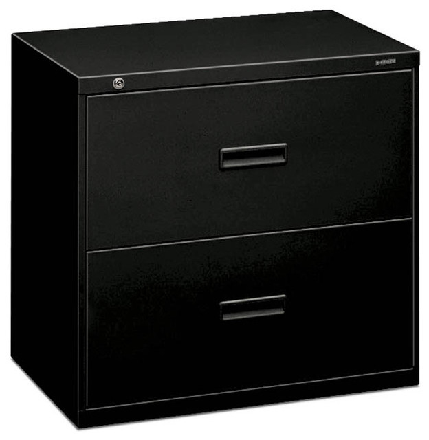 basyx by HON Lateral File - 2 Drawer - Contemporary - Filing Cabinets ...