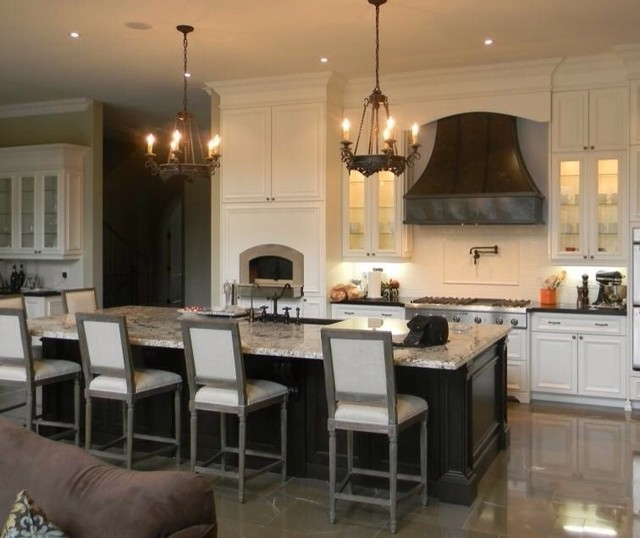 Kitchen Island With Stove And Hood: By Custom Range Hoods