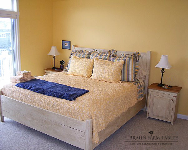 Bedroom Furniture Crafted Of Reclaimed Barn Wood Other Metro De E Braun Farm Tables And