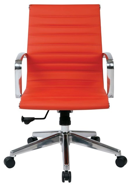 office chair in red contemporary office chairs
