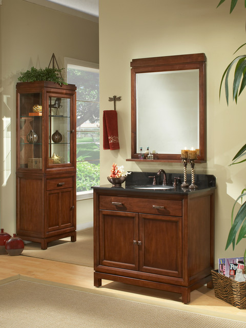 36 Modena Single Bath Vanity Md3621d Traditional Bathroom Vanities San Diego By Bathgems