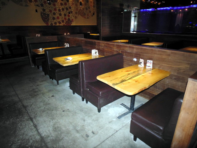 Resturant makeover sushi galore london ontario for Coffee tables london ontario