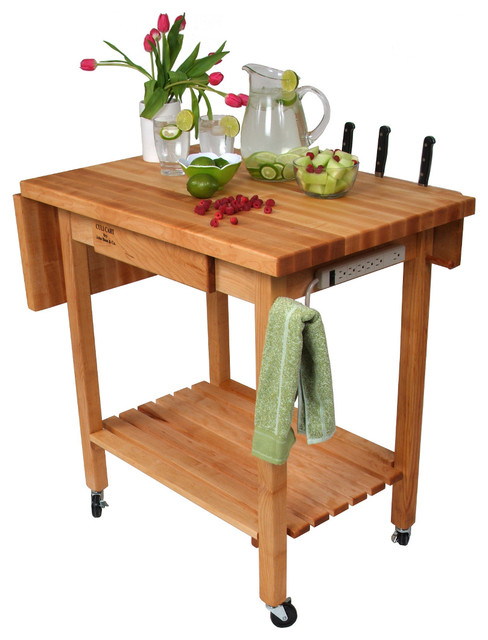 deluxe culinary cart drop leaf knife holder amp power under cabinet power strip home design ideas pictures