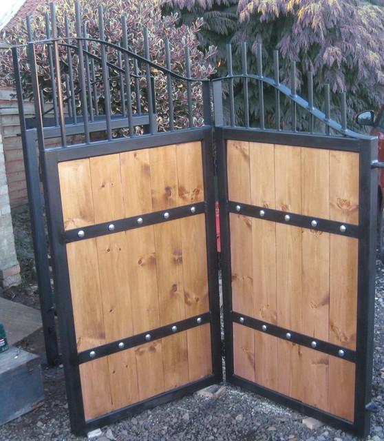 Wood fence gates designs