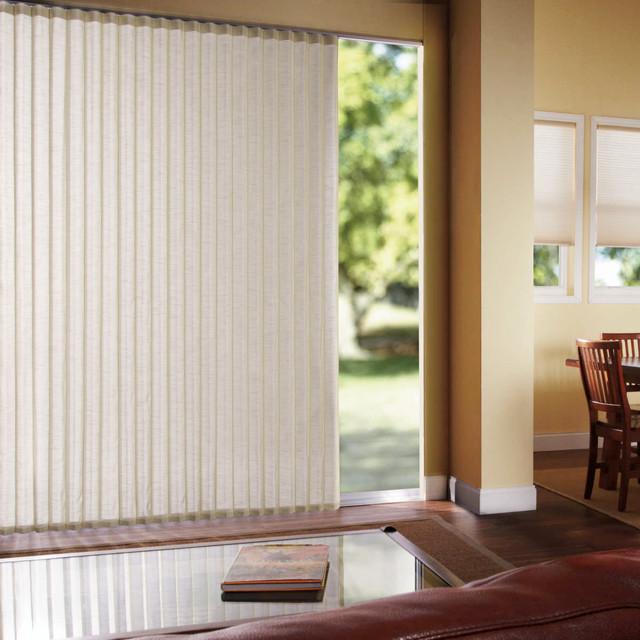 Levolor perceptions soft vertical shades contemporary Home decorators vertical blinds