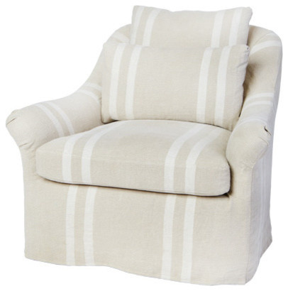 Limo Sambre Chair Ivory Coastal Armchairs Amp Accent Chairs