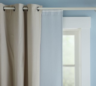 Blackout Drape Liner - Traditional - Curtains - sacramento - by ...