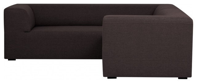 modulares sofa set seed ii braun links bauhaus look. Black Bedroom Furniture Sets. Home Design Ideas