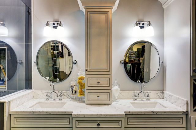 Renovation station showroom master bathroom contemporary houston by crestwood homes and Bathroom design showrooms houston
