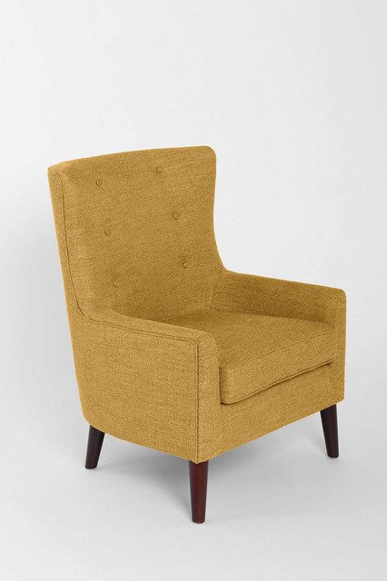 Frankie Chair Yellow Midcentury Armchairs And Accent
