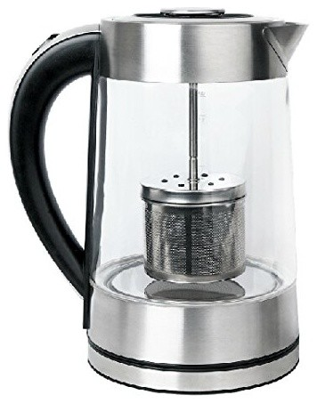 Oxo Coffee Maker Red Light : Smal 1.7 Liter Tea Maker and Electric Kettle With Filter Lid - Modern - Coffee And Tea Makers ...
