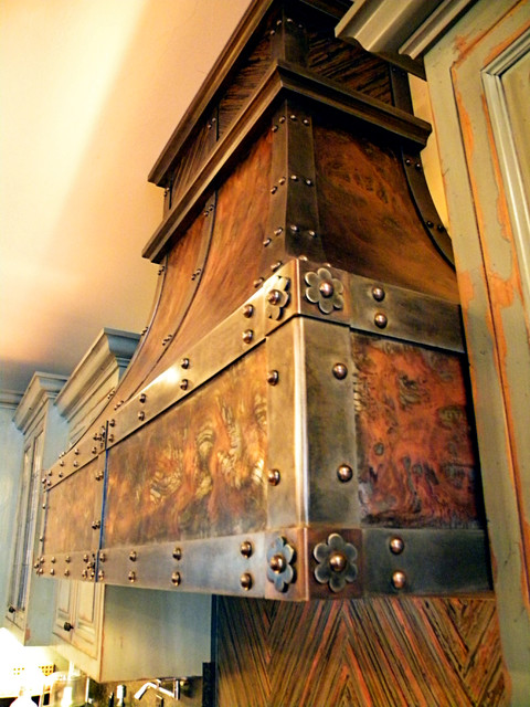 custom oven hoods architectural elements traditional