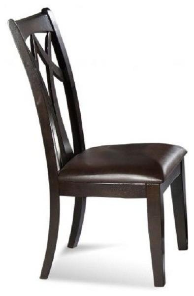 Bassett Mirror Elation Wood Back Side Chair D1078 S800