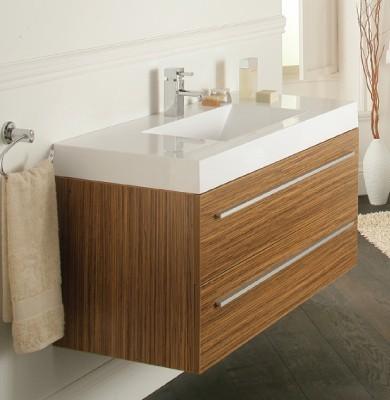 Bojano 1000mm Wall Hung Unit Modern Bathroom Vanity Units Sink Cabi