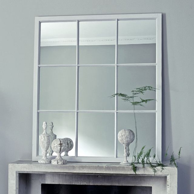 Dalton window mirror traditional wall mirrors by for Window design mirror