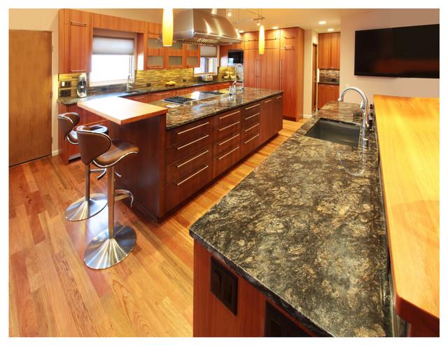 Cosmos Granite Countertops Lujan Kitchen In Albuquerque Modern Kitchen Co