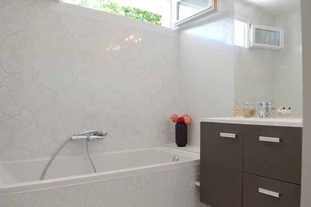 Salle de bain blanche - Salle de bain blanche ...