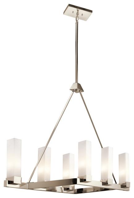 Kichler Lighting Savina 6 Light Linear Chandelier