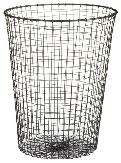 Wire Waste Paper Basket waste baskets | dance-drumming