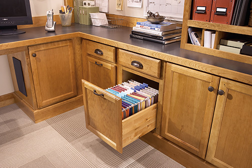 Office File Drawer - Filing Cabinets - Minneapolis - by Mid Continent Cabinetry