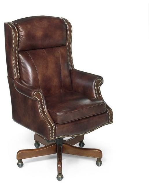 Hooker Furniture Empire Byzantine Executive Swivel Tilt Chair Traditional Office Chairs By