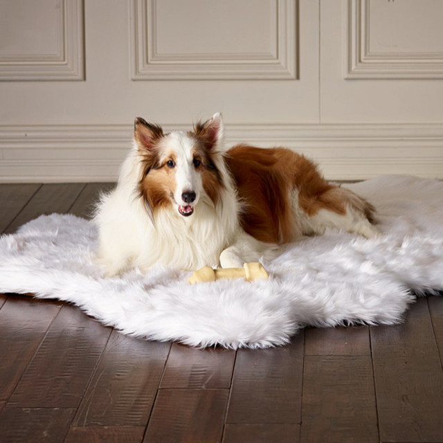 Animals Matter Memory Foam Faux Fur Rug
