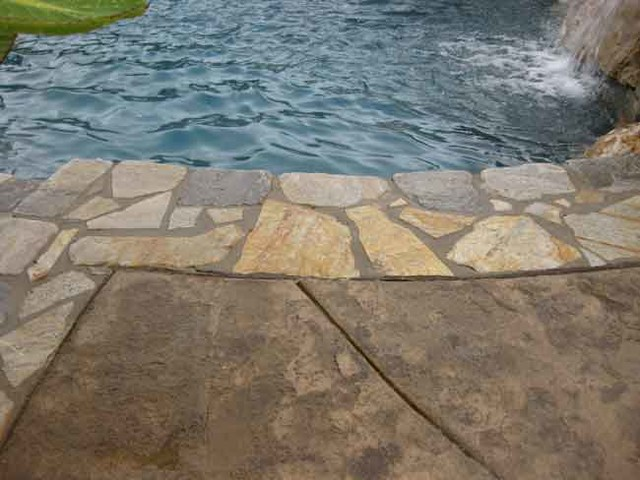 Quartzite Natural Stone Used In Swimming Pool Projects Traditional Other By Knoxville