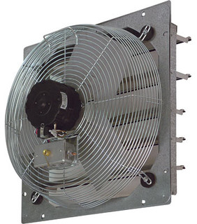 Tpi Ce30 Ds 30 Shutter Mounted Direct Drive Exhaust Fan Industrial Bathroom Exhaust Fans