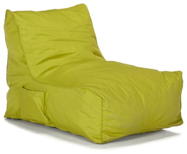 Amalia fauteuil pouf vert modern outdoor footstools - Fauteuil crapaud vert ...