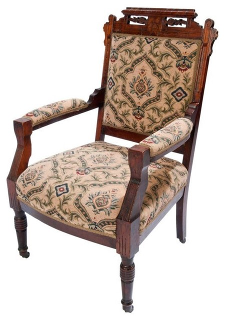 Eastlake Arm Chair - Traditional - Armchairs And Accent Chairs ...