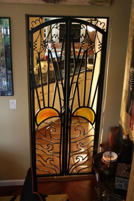 Forge Iron Designs Mediterranean Interior Doors
