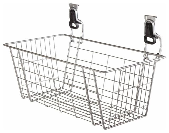 Rubbermaid FastTrack 24-Inch Mesh Basket - Modern - Baskets - by Amazon