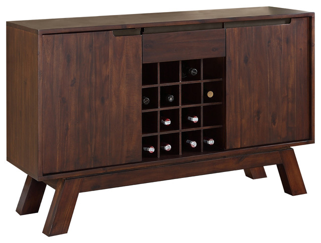 Portland solid wood sideboard contemporary buffets and
