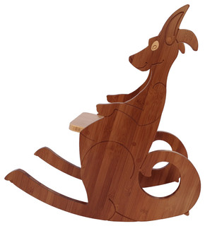 Kangaroo Rocking Chair, Small - Modern - Kids Chairs - by True to Form Design