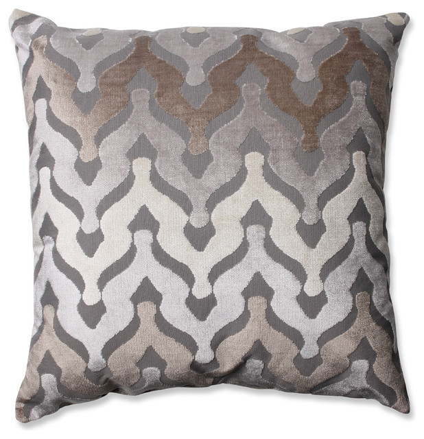 Floor Pillows Modern : Monroe Driftwood 24.5