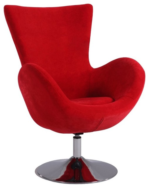 Chintaly wynter modern fun swivel accent chair 2001 acc for Fun living room chairs