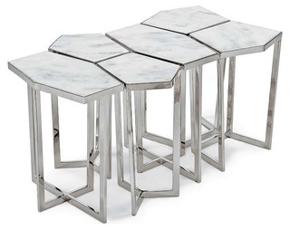 Regina andrew puzzle table set contemporary side for Coffee tables regina