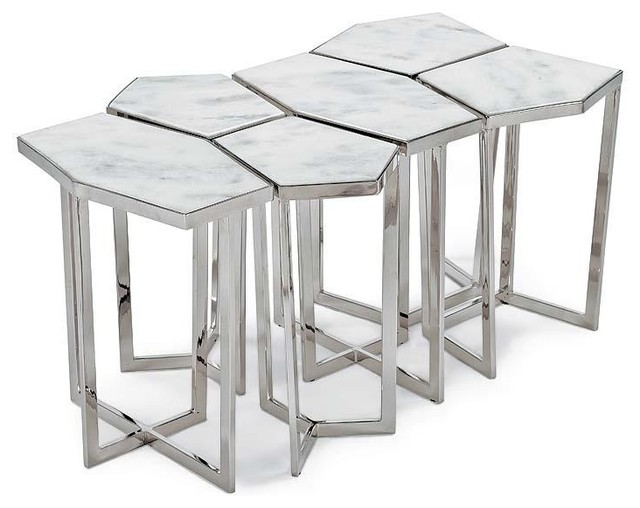 Regina Andrew Puzzle Table Set Contemporary Side Tables And End Tables By Candelabra