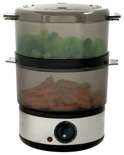 Kitchen Living  Tier Food Steamer