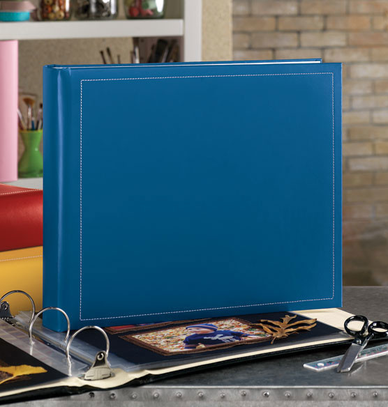 Savannah 12 x 12 Extra-Capacity Photo Album - Traditional - Photo Albums - by Exposures